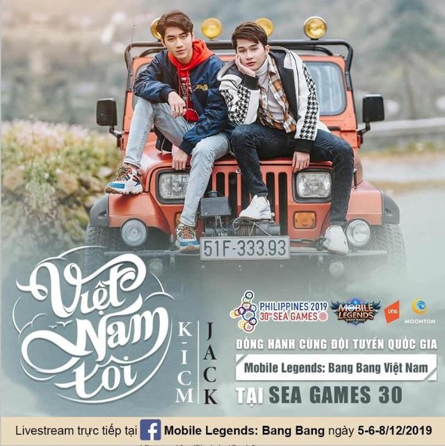 Jack & K-ICM ra mắt MV ủng hộ Đoàn thể thao Việt Nam - Ảnh 3.