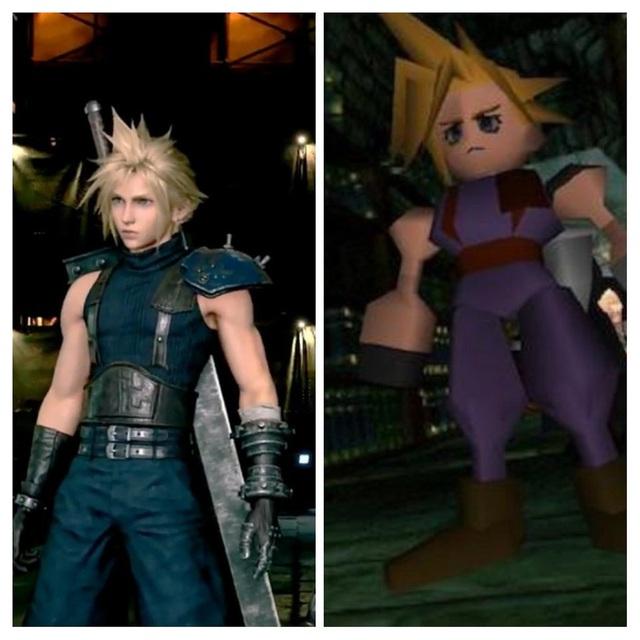 20 năm qua, các nhân vật trong Final Fantasy 7 đã thay đổi thế nào ? - Ảnh 3.