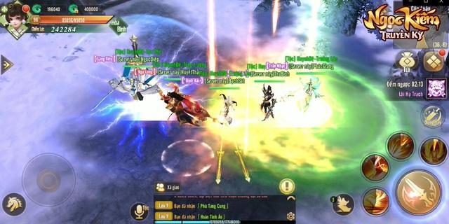 Đại chiến liên server: Nơi cao thủ võ lâm khẳng định đẳng cấp chí tôn trong Ngọc Kiếm Truyền Kỳ - Ảnh 3.