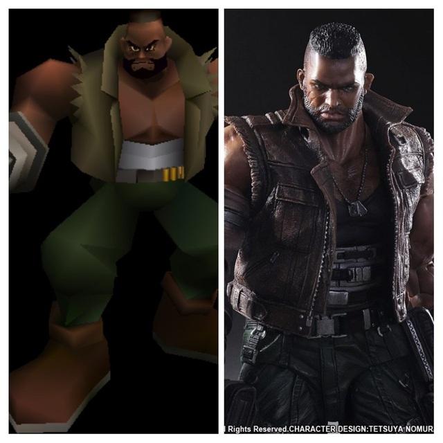 20 năm qua, các nhân vật trong Final Fantasy 7 đã thay đổi thế nào ? - Ảnh 5.