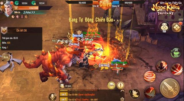 Đại chiến liên server: Nơi cao thủ võ lâm khẳng định đẳng cấp chí tôn trong Ngọc Kiếm Truyền Kỳ - Ảnh 6.