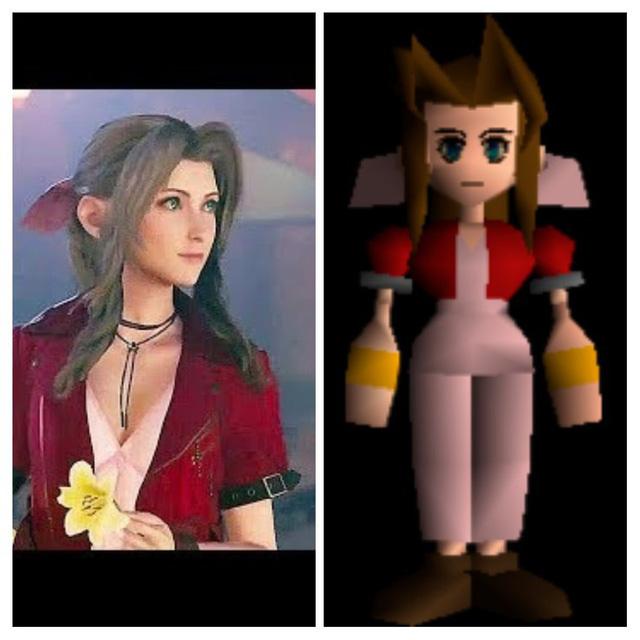 20 năm qua, các nhân vật trong Final Fantasy 7 đã thay đổi thế nào ? - Ảnh 9.