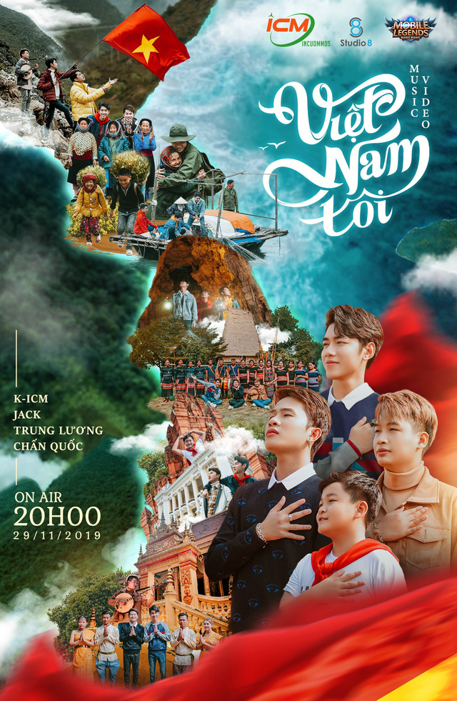 Jack & K-ICM ra mắt MV ủng hộ Đoàn thể thao Việt Nam - Ảnh 9.