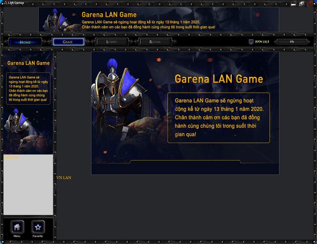 Garena Lan Game chính thức đóng cửa: Tạm biệt huyền thoại của tuổi thơ - Ảnh 2.