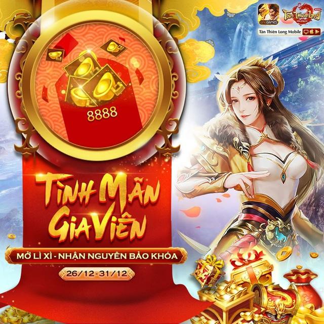 Một tuần sau ngày ra mắt Hoa Khai Mộ Dung, cộng đồng Tân Thiên Long Mobile VNG hào hứng đón nhận cơn mưa quà tặng cùng những tính năng mới - Ảnh 9.