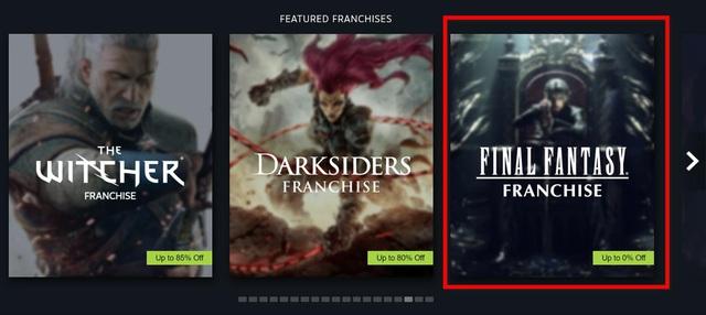 Sale 0% nhưng vẫn quảng bá trên Steam, Final Fantasy bị game thủ chửi cho tơi bời - Ảnh 1.