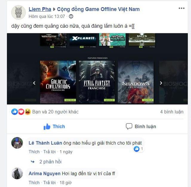 Sale 0% nhưng vẫn quảng bá trên Steam, Final Fantasy bị game thủ chửi cho tơi bời - Ảnh 2.