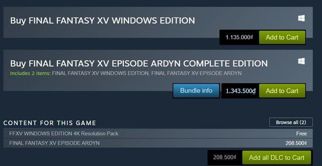 Sale 0% nhưng vẫn quảng bá trên Steam, Final Fantasy bị game thủ chửi cho tơi bời - Ảnh 3.