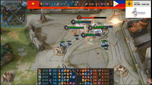 Liên Quân Mobile: Hủy diệt Phillippines và Myanmar chỉ sau 8 - 10 phút, tự hào quá Việt Nam ơi! - Ảnh 1.