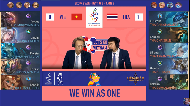 Đội tuyển Thái Lan chơi quá rắn, Liên Quân Mobile Việt Nam gặp khó trên hành trình chinh phục HCV SEA Games 30 - Ảnh 2.