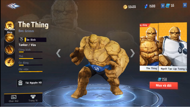 MARVEL Super War: NetEase tặng FREE tướng Hawkeye, skin The Thing khi game Open Beta - Ảnh 5.