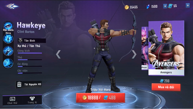 MARVEL Super War: NetEase tặng FREE tướng Hawkeye, skin The Thing khi game Open Beta - Ảnh 4.