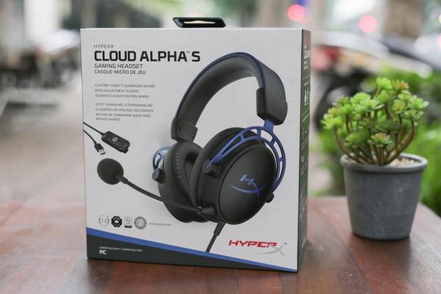 HyperX Cloud Alpha S - Tai nghe gaming xịn xò, đeo vào tự động đẹp trai - Ảnh 1.
