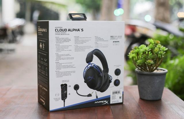 HyperX Cloud Alpha S - Tai nghe gaming xịn xò, đeo vào tự động đẹp trai - Ảnh 2.