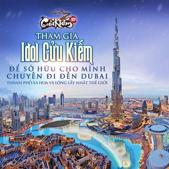 Xua tan cái lạnh 9 độ C bằng bộ ảnh gái xinh tại Dubai cùng sự kiện Idol Cửu Kiếm, chỉ còn 1 ngày để đăng ký tham gia! - Ảnh 1.