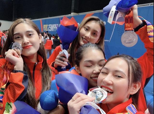 Quá xinh đẹp, hot girl môn kiếm chém đoạt HCB Sea Games lấn sân sang làm người mẫu khiến cộng đồng mạng bất ngờ - Ảnh 2.