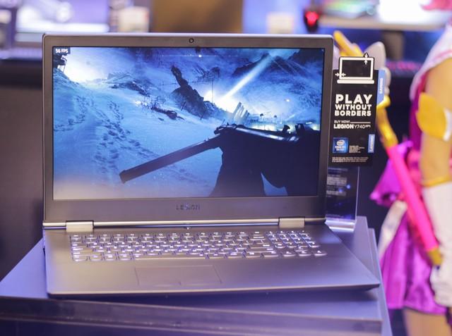 Cận cảnh laptop gaming siêu khủng Legion Y740 mới của Lenovo: Trang bị cả RTX 2080 chiến game bao mượt - Ảnh 11.