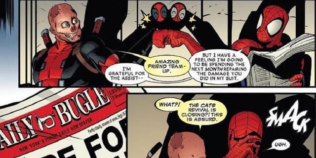 Deadpool và Spider-Man: 17 sự thật về mối quan hệ kỳ lạ giữa 2 anh chàng mặc đồ đỏ của Marvel - Ảnh 3.