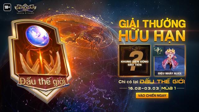 Chả kém Mobile Legends, Liên Quân Mobile cũng để game thủ Việt đấu với thế giới - Ảnh 3.