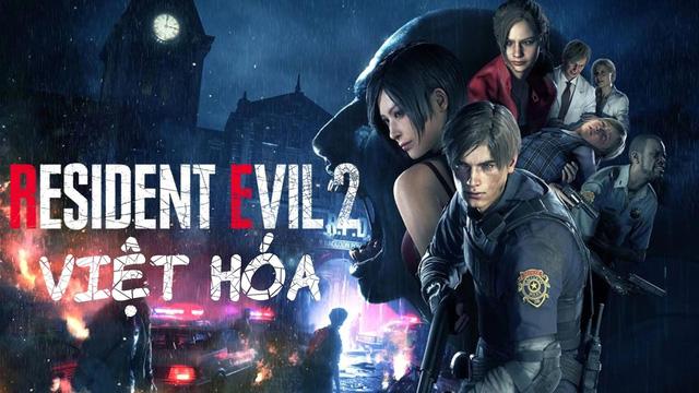 Resident Evil 2 Remake có bản Việt hóa hoàn chỉnh, game thủ có thể tải và chơi ngay bây giờ - Ảnh 1.