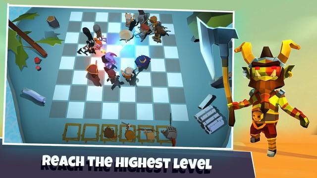 Heroes Auto Chess - game mobile nhái hiện tượng mới nổi DOTA Auto Chess nhưng còn hạn chế - Ảnh 1.
