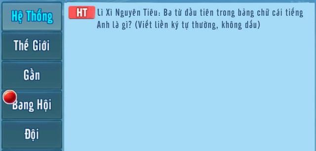 Hoạt động đặc biệt Lì xì Tết Nguyên Tiêu Võ Lâm Truyền Kỳ Mobile Photo-1-1550479115016176918913