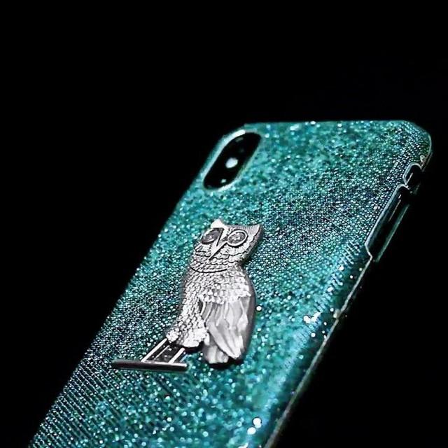 Rapper Drake chi 10 tỷ làm ốp lưng kim cương full option cho iPhone - Ảnh 1.