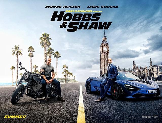 Fast & Furious: Hobbs & Shaw tung trailer mãn nhãn không khác gì phim siêu anh hùng - Ảnh 2.