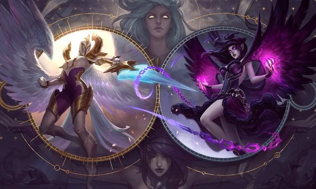 LMHT: Chiêm ngưỡng loạt ảnh nền trang phục tuyệt đẹp của chị em chân dài Kayle và Morgana - Ảnh 4.