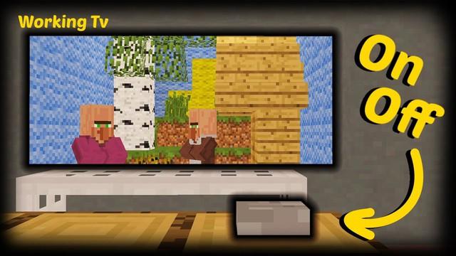 Không còn là giấc mơ, game thủ giờ đây có thể xem phim ngay trong Minecraft - Ảnh 1.