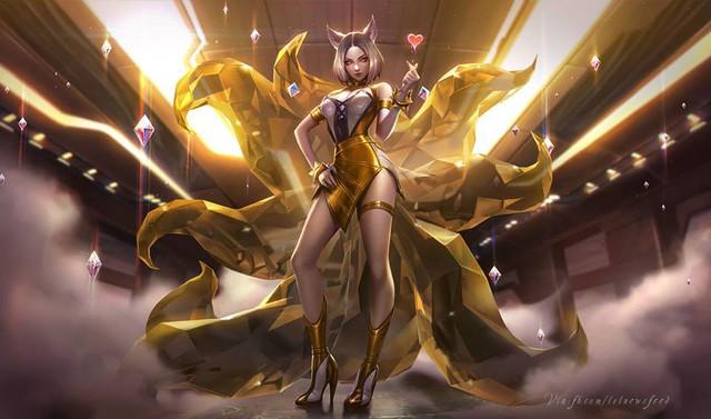 LMHT: Cập nhật toàn bộ trang phục Morgana, hình ảnh chi tiết về hai trang phục mới K/DA Ahri Hàng Hiệu và Brand Hồ Quang - Ảnh 19.