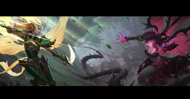 LMHT: Cập nhật toàn bộ trang phục Morgana, hình ảnh chi tiết về hai trang phục mới K/DA Ahri Hàng Hiệu và Brand Hồ Quang - Ảnh 3.