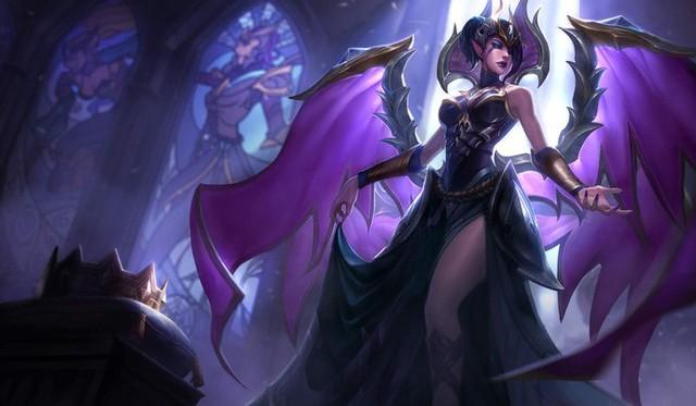 LMHT: Cập nhật toàn bộ trang phục Morgana, hình ảnh chi tiết về hai trang phục mới K/DA Ahri Hàng Hiệu và Brand Hồ Quang - Ảnh 17.