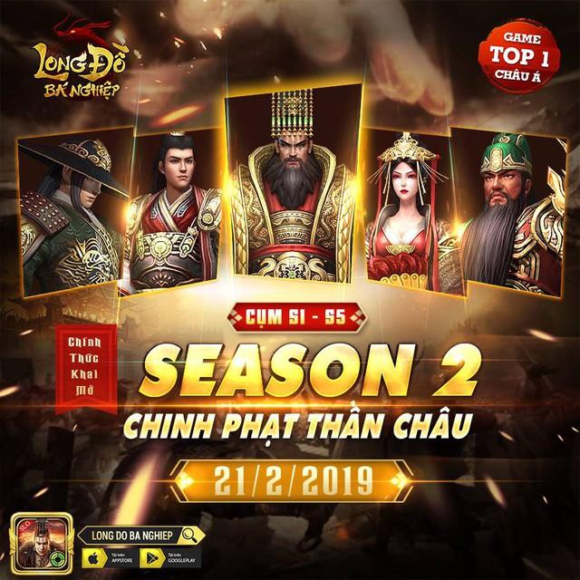 Tần Thủy Hoàng xuất thế, Season 2 Long Đồ Bá Nghiệp – Chinh Phạt Thần Châu chính thức khởi tranh - Ảnh 1.