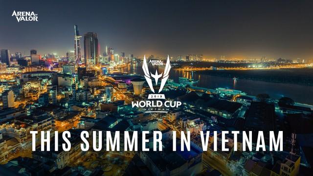 Việt Nam là chủ nhà của giải Chung kết Liên Quân Mobile thế giới - AWC 2019 - Ảnh 1.