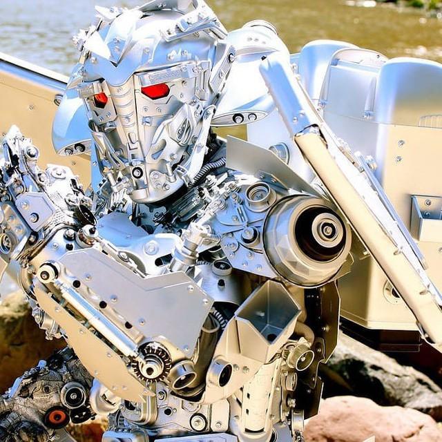 Mãn nhãn với bộ sưu tập robot Transformers được chế biến từ phế liệu cũ - Ảnh 8.