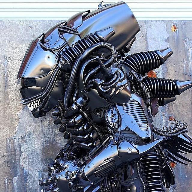 Mãn nhãn với bộ sưu tập robot Transformers được chế biến từ phế liệu cũ - Ảnh 12.