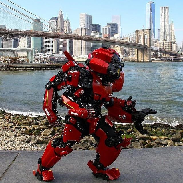 Mãn nhãn với bộ sưu tập robot Transformers được chế biến từ phế liệu cũ - Ảnh 15.