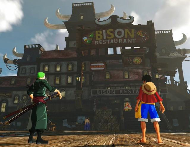 20 phút gameplay của One Piece: World Seeker, tựa game Vua Hải Tặc thế giới mở đầu tiên trong lịch sử - Ảnh 1.