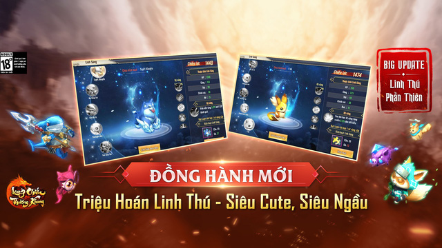 Long Chiến Thương Khung chính thức tung Update: Linh Thú Phần Thiên, tặng 1000 Giftcode - Ảnh 1.