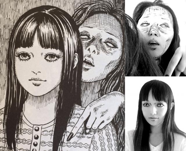Hết hồn với màn cosplay của cô gái chuyên hóa thân thành ma trong manga Junji Ito - Ảnh 1.