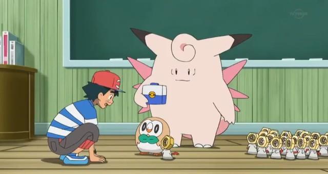 Sau bao nhiêu năm, cuối cùng Ash Ketchum cũng đã bắt được Pokemon huyền thoại đầu tiên - Ảnh 1.