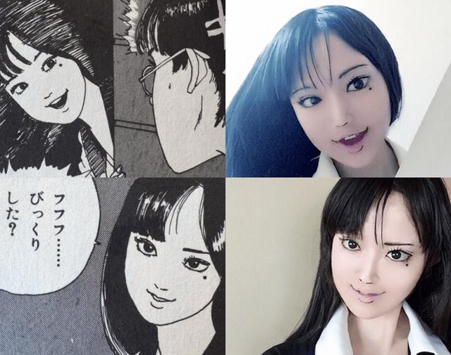 Hết hồn với màn cosplay của cô gái chuyên hóa thân thành ma trong manga Junji Ito - Ảnh 4.