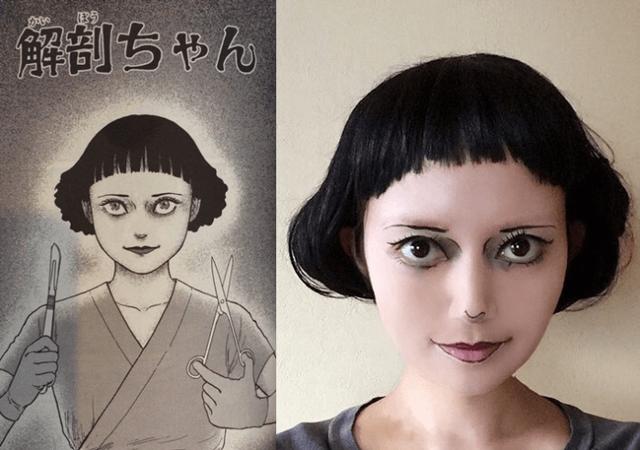 Hết hồn với màn cosplay của cô gái chuyên hóa thân thành ma trong manga Junji Ito - Ảnh 7.