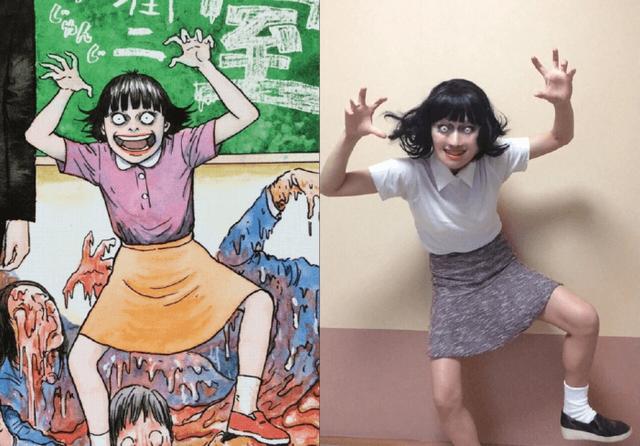 Hết hồn với màn cosplay của cô gái chuyên hóa thân thành ma trong manga Junji Ito - Ảnh 9.