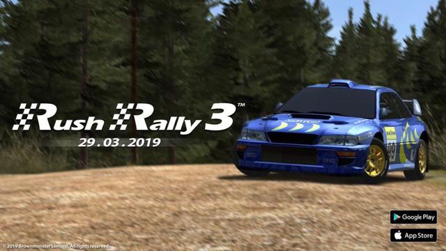 Rush Rally 3: Game mobile đua xe cạnh tranh với Asphalt 9 sẽ mở cửa vào ngày 29/3 tới - Ảnh 1.