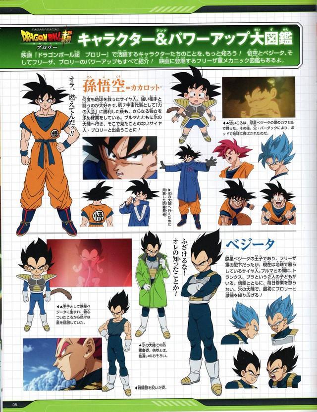 Hé lộ toàn bộ thiết kế chi tiết của dàn nhân vật từ chính đến phụ trong Dragon Ball Super: Broly - Ảnh 4.
