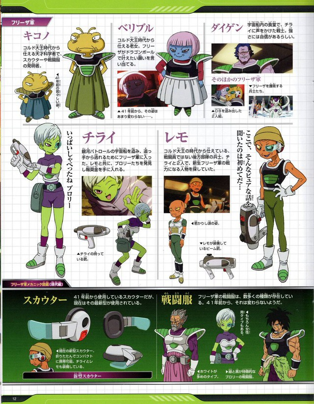 Hé lộ toàn bộ thiết kế chi tiết của dàn nhân vật từ chính đến phụ trong Dragon Ball Super: Broly - Ảnh 8.