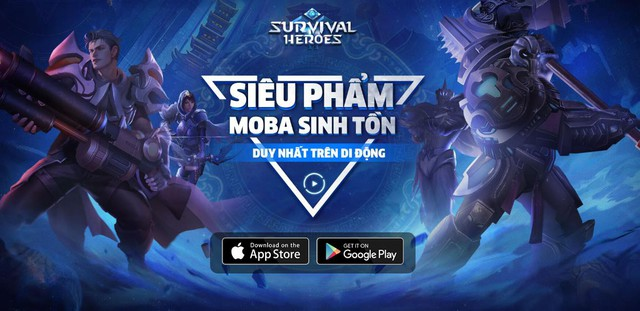 Survival Heroes – Game MOBA kết hợp Battle Royale sắp ra mắt game thủ Việt - Ảnh 1.