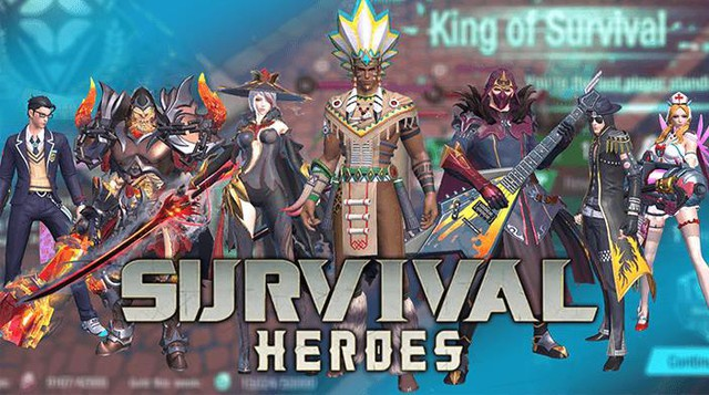 Survival Heroes – Game MOBA kết hợp Battle Royale sắp ra mắt game thủ Việt - Ảnh 2.